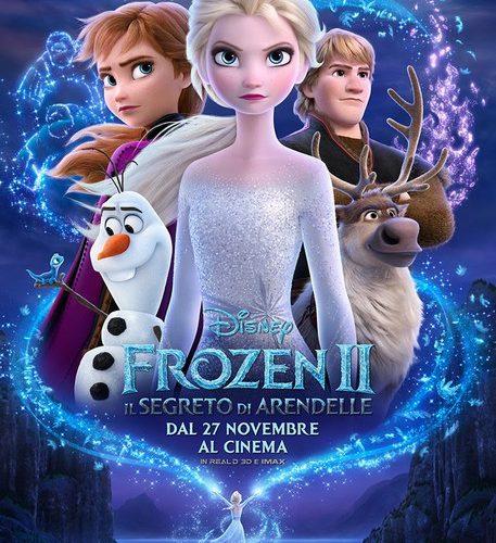 FROZEN 2: dal 29 novembre al Cinema Loverini